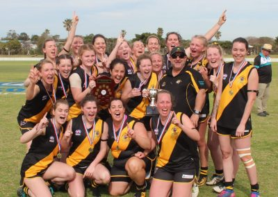 Women's AFL Premiership Team for 2018