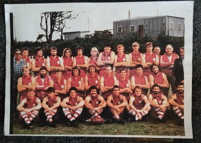 AFL South Coast REP Team (Mid 80's)