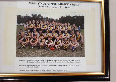 First Grade Premiers 2004