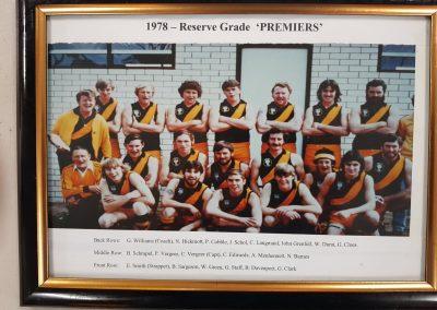 Reserve Grade Premiers 1978