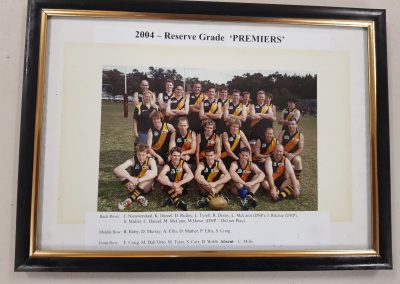 Reserve Grade Premiers 2004