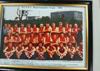 SCAFL Representative Team 1982