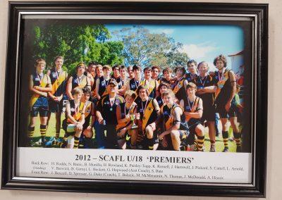 SCAFL Underr 18s Premiers 2012